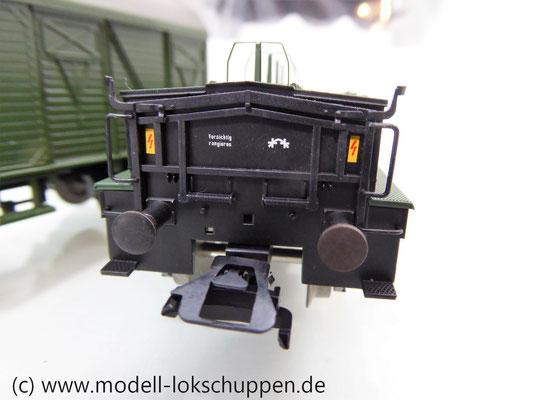 Märklin 48690 H0 Wagen-Set Gleiswaagen-Eichzug, DB, Ep. IV    10