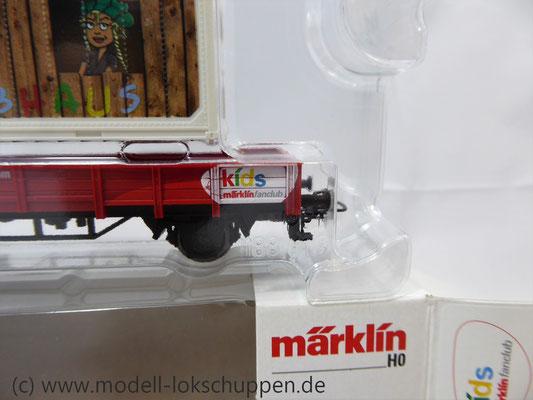 Märklin 48612 Märklin Kids Club 2012 Niderbordwagen Kklm m. 20 Fuß Container    4