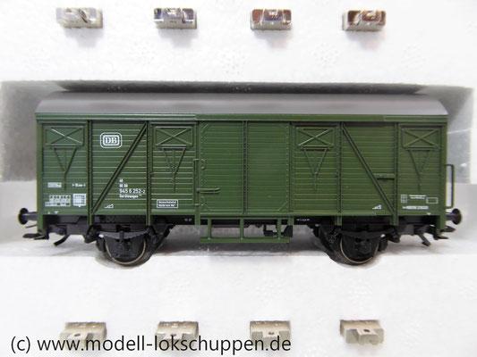Märklin 48690 H0 Wagen-Set Gleiswaagen-Eichzug, DB, Ep. IV    4