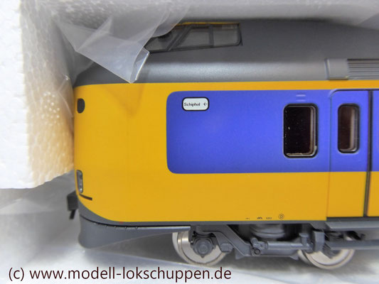 Märklin H0 37421 Triebzug ELA4 Koploper NS mfx Digital Sound OVP 9