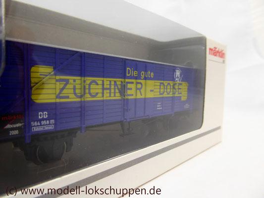 """Insider-Wagen 2000: Gedeckter Güterwagen """"Züchner-Dose"""" /  Märklin 46159    5"""