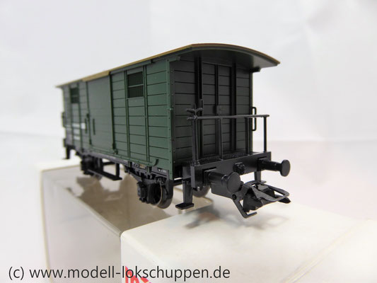 Märklin 48852 / Heizwagen Typ H der K.W.St.E. mit 2 Bremserbühnen      4