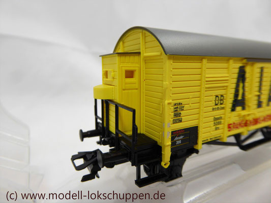 Insider Wagen 2010 - Ged. Güterwagen ALAK Spangenberg-Werke DB / Märklin 48160