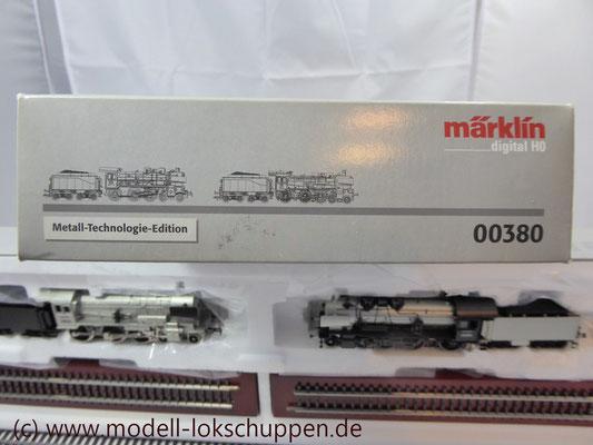 "Lokomotiv-Packung ""Baureihe 38"". (Metall-Technologie-Edition) / Märklin 00380   2"