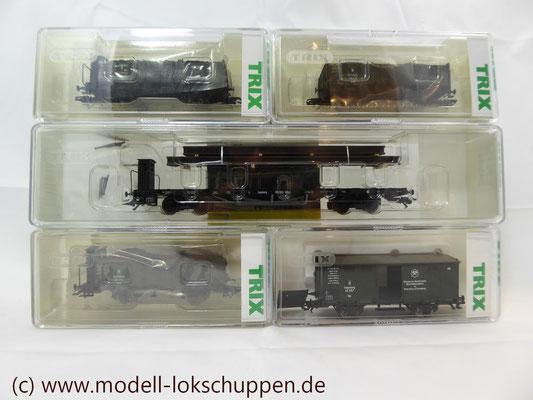 """Trix 24304 Wagen-Set zum Stahlwerk """"Maxhütte""""   3"""