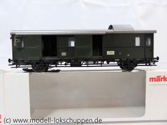 """Märklin 4316 Gepäckwagen """"Donnerbüchse""""-Einheitswagen Pwi der DB      5"""