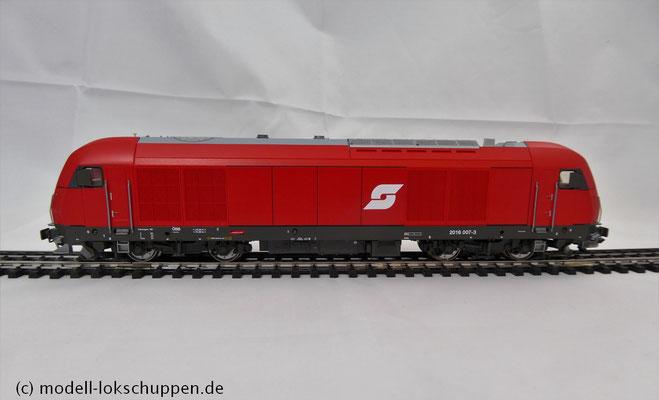 Roco 69401 Diesellok BR 2016 007-3 ÖBB für Märklin DIGITAL mit ESU Loksound 6