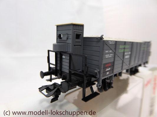 Mittelbordwagen Niederlausitzer Glashütte/ Insider 2001  Märklin 46037