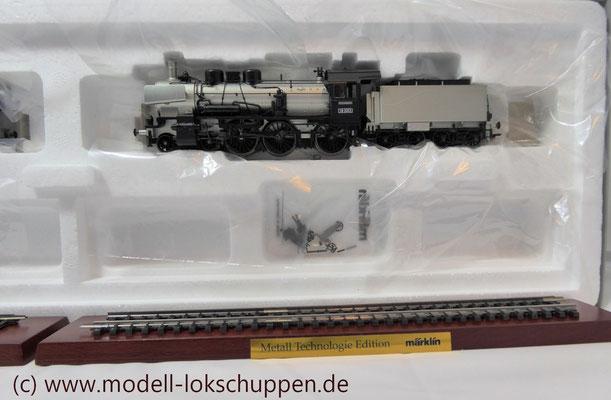 "Lokomotiv-Packung ""Baureihe 38"". (Metall-Technologie-Edition) / Märklin 00380   4"