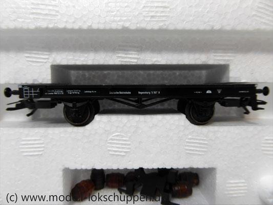 """Märklin 48792 DRG G-Wagen Set Biertransport Ep.2 """"Ledererbräu Nürnberg"""" MHI Sondermodell   6"""