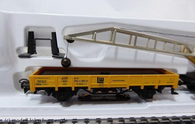 Digitaler Kranwagen mit Kranschutzwagen / Märklin 46715