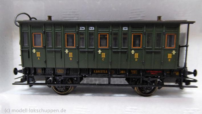 Märklin 43985 Bayerisches Personenwagen-Set / Epoche I    3