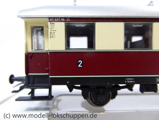 Märklin 43136 Nebenbahnwagen der DB- Exklusivausführung Göppingen Epoche IV     3