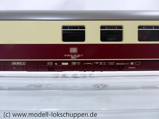 """Märklin 42972 """"IC Südwind"""" Barwagen für Insider Modell 2003     6"""