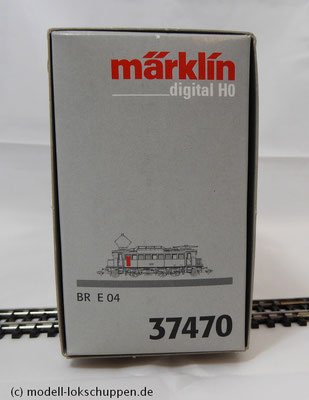 Märklin 37470 H0 mfx DIGITAL E-Lok / Elektrolok BR E 04