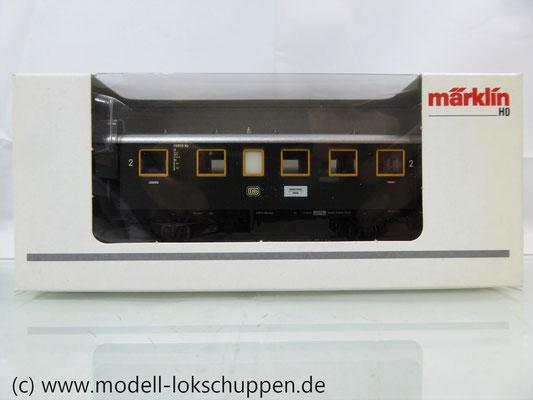 Märklin 43010 Nebenbahnwagen 2Kl. DB Epoche 3 grün H0     2