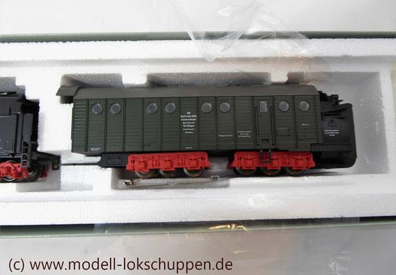 Märklin 26830 BR 52 mit Dampfschneeschleuder / Insider Modell 1998  4