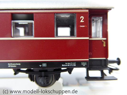 Märklin 43351 / Einheitsnebenbahnwagen ABie-34 der DB 1. und 2. Klasse.      4