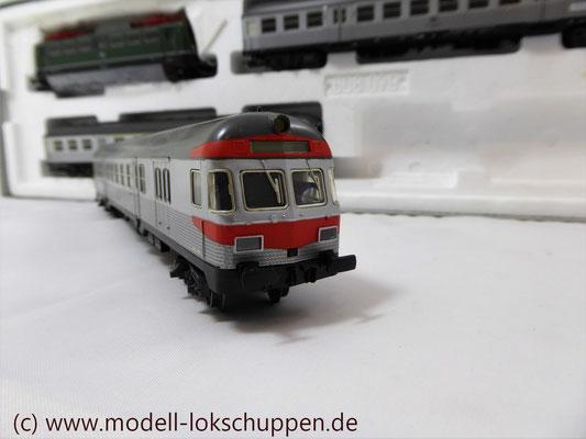 """BR 140 DB Wendezug im Nahverkehr """"Silberlinge"""" / Märklin 26511   7"""