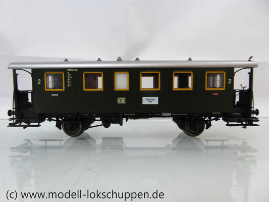 Märklin 43010 Nebenbahnwagen 2Kl. DB Epoche 3 grün H0     3