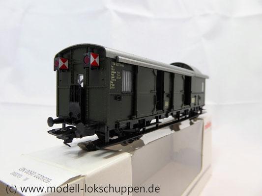 """Märklin 4316 Gepäckwagen """"Donnerbüchse""""-Einheitswagen Pwi der DB      6"""