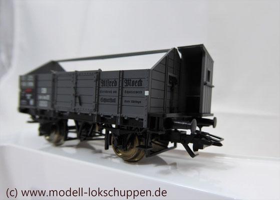 """Märklin 46022 Insider Jahreswagen 2005 - Mittelbordwagen (DB) """"Alfred Moeck""""     3"""