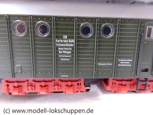 Märklin 26830 BR 52 mit Dampfschneeschleuder / Insider Modell 1998  9