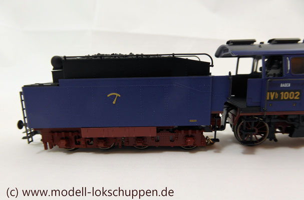 Schnellzuglokomotive Serie IVh der Gr.Bad.Sts.E. / Märklin 39021 MHI 2008    11