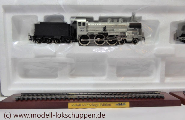 "Lokomotiv-Packung ""Baureihe 38"". (Metall-Technologie-Edition) / Märklin 00380   3"