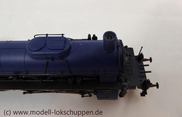 Schnellzuglokomotive Serie IVh der Gr.Bad.Sts.E. / Märklin 39021 MHI 2008    12