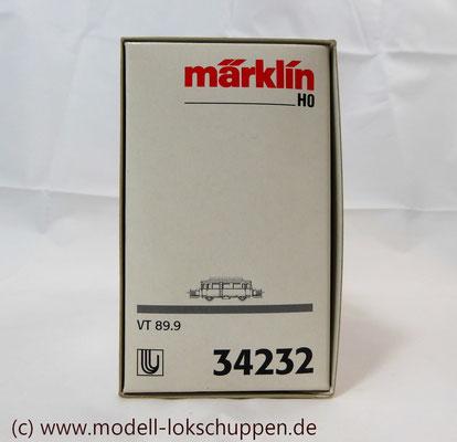 """Schienen-Omnibus """"Wismar"""" BR VT 89.9 der DB / Märklin 34232    1"""