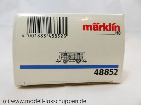Märklin 48852 / Heizwagen Typ H der K.W.St.E. mit 2 Bremserbühnen      7