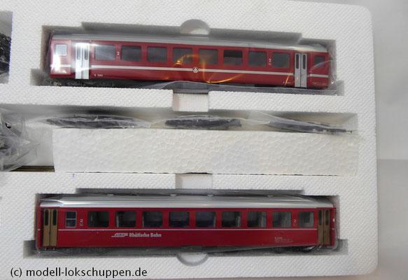 Bemo 7262 200 - HGe 4/4 II - Nr. 107 - Grimsel + 3 Personenwagen - FO - BVZ - RhB - H0m_4