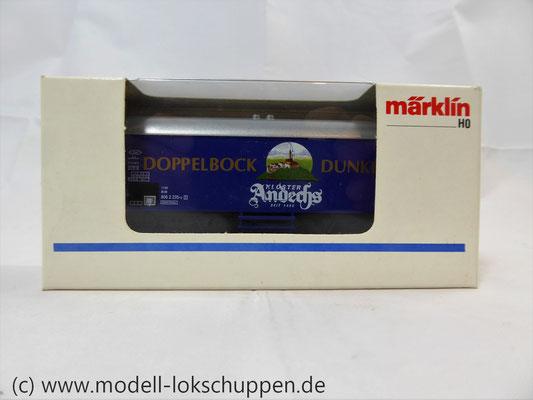 "H0-Bierwagen ""Kloster Andechs Doppelbock Dunkel"" / Märklin 4421    2"