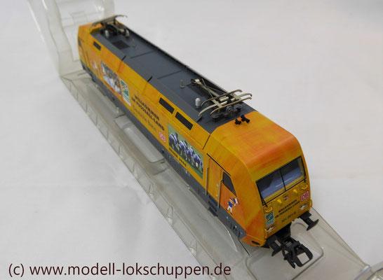 """Märklin 39370 E-Lok BR 101 """"Fußball WM 2006"""" Insider Modell 2000   6"""