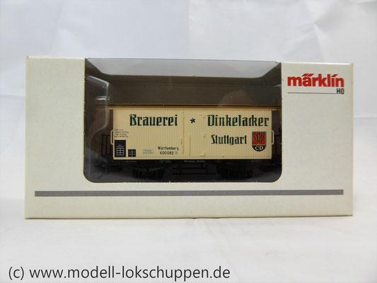 Märklin 48283 - Bierwagen Dinkelacker K.W.St.E.    2