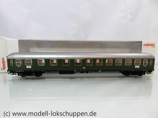 Märklin 43930 H0 Schnellzugwagen der DB 1./2. Klasse AB4üm-63 der DB     1