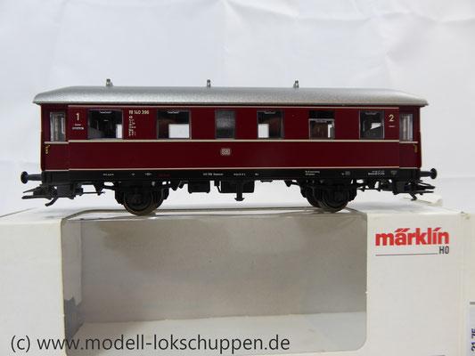 Märklin 43351 / Einheitsnebenbahnwagen ABie-34 der DB 1. und 2. Klasse.      2