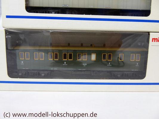 Sitzwagen BCCi der Königlich Württembergischen Staatseisenbahn (K.W.St.E.). 2. und 3. Klasse / Märklin 4210