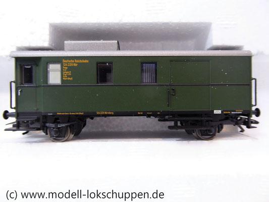 Märklin 45097 Wagen-Set - 6 Flachwagen und 1 Güterzug-BegleitwagenDRG Flugzeug-Transport Me 109    10