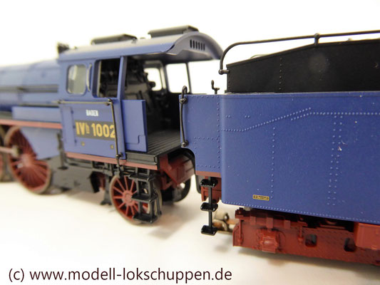 Schnellzuglokomotive Serie IVh der Gr.Bad.Sts.E. / Märklin 39021 MHI 2008    7