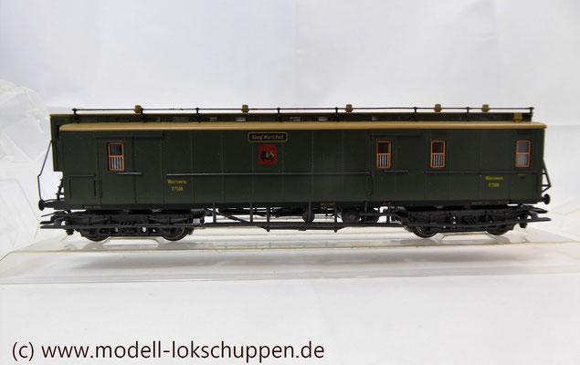 Märklin 4229 Schnellzug-Postwagen der Königlich Württembergischen Post    1