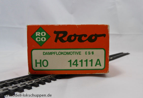 """Roco 14111A BR C5/6 """"Gotthard Elefant"""" der SBB - mit Digital Decoder 1"""