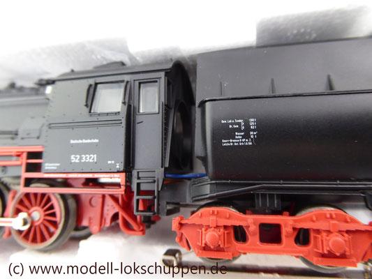 Märklin 26830 BR 52 mit Dampfschneeschleuder / Insider Modell 1998  10