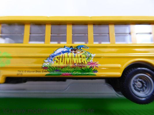 Märklin 48613 / Märklin Kids Club Jahreswagen 2013  Niederbordwagen mit Schulbus     1