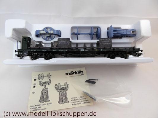Märklin 48001 Museumswagen 2001 Schuler mit Gusspresse