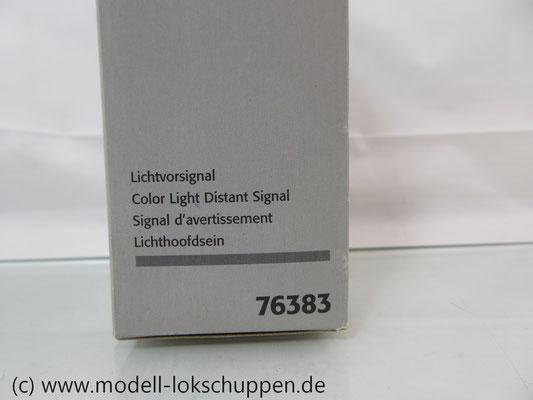 Märklin 76383 Licht-Vorsignal der DB (Vr0 / Vr1 / Vr2) C-Gleis H0