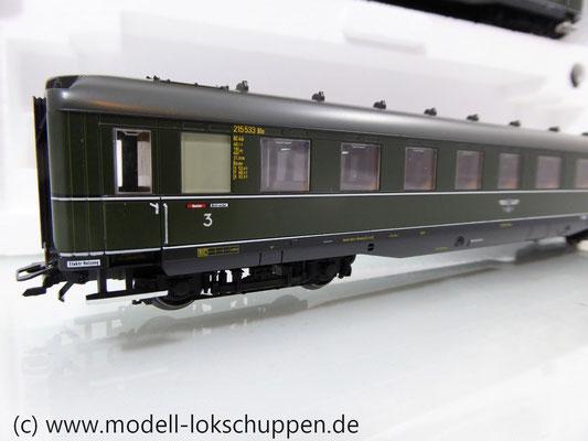 "Märklin 43259 Schnellzugwagen-Set ""Berlin-Hamburg"" DRG Ep.2     8"