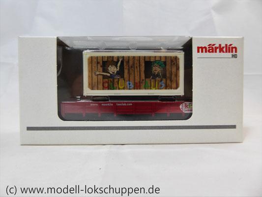 Märklin 48612 Märklin Kids Club 2012 Niderbordwagen Kklm m. 20 Fuß Container    2