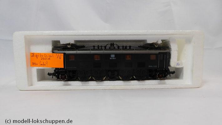 Roco H0 AC 14143 Elektrolokomotive der DB BR 116 019-1   2